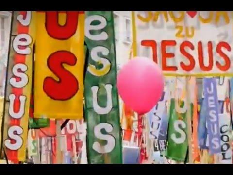 Marsch für Jesus am Christustag 2015 in Linz, Austria – MUST SEE!!