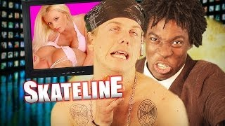 SKATELINE - Eric Koston, Fakie Biggerspin Back Lip, New Balance Hyperlinks and more...