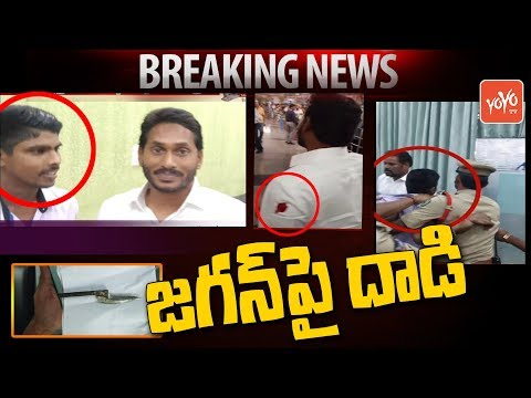 YS Jagan Attacked by Hotel Waiter | Visakhapatnam Airport | Jagan Padayatra | MLA Roja | YOYO TV