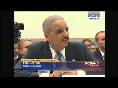 Eric Holder Attacks Rep. Darrell Issa For