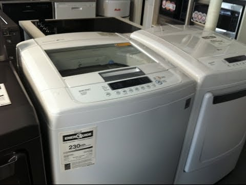 LG WT1101CW 5.0 Cu. Ft. HE Top Load Washer Review #1 Rated Top Load Washer
