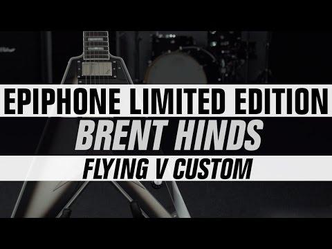 Epiphone Limited Edition Brent Hinds (Mastodon) Flying V Custom