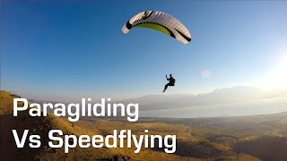 Paragliding vs Speedflying