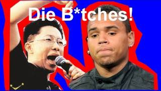 Chinese Chris Brown (Li Yang 李阳) Beat Up American Wife!