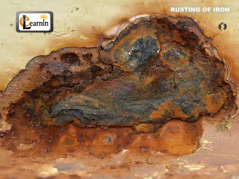 Dissolve Rust Iron Rusting of Iron Elementary