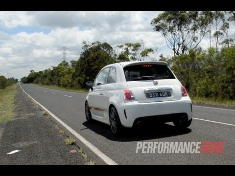 2013 Fiat 500 Abarth Esseesse engine sound and 0-100km/h acceleration