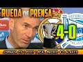 Real Madrid 4-0 Alavés Rueda de prensa de Zidane (24/02/2018)   POST LIGA JORNADA 25 MP3