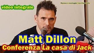 Matt Dillon a Roma, conferenza integrale La casa di Jack