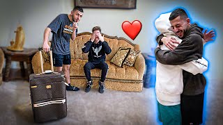 Surprising FaZe Rug by MOVING INTO HIS HOUSE!! *EMOTIONAL*