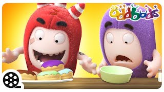 Cartoon | Oddbods - Food Flicker | Funny Videos For Children