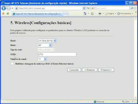 GTS Network - Configuração para Cable Modem Net Virtua. Ajato TVA (Clonagem de MAC)