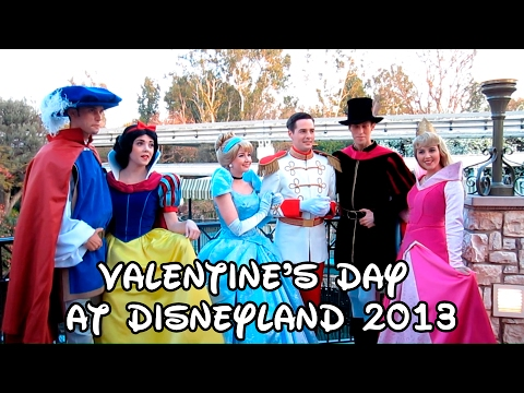 Valentine s Day at Disneyland 2013
