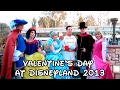 Valentine's Day at Disneyland 2013