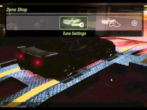 HOW TO TUNING YOUR CAR NFSUG2 ON DYNO ( SKYLINE TO 412KM! ) BY KINGN01