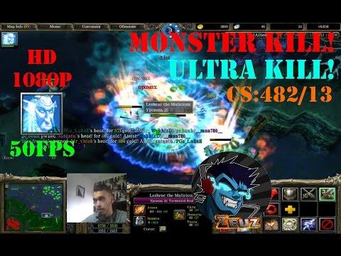 ★DoTa Leshrac, Tormented Soul - GamePlay | Guide★ Monster/Ultra kill!★