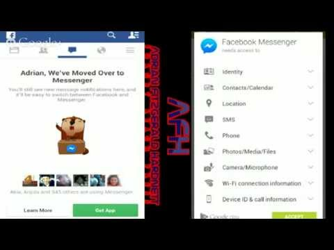 How do I remove Facebook messenger from my phone 2014