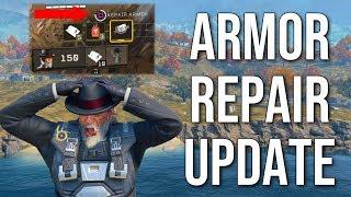 ARMOR REPAIR UPDATE! (Blackout Map Update & Changes)