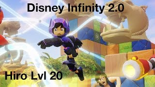 Disney Infinity 2.0 Hiro Level 20 Skill Overview (Big Hero Six)