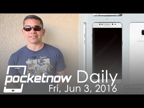 Galaxy Note 7 design leaks, Huawei Daydream VR phone & more - Pocketnow Daily