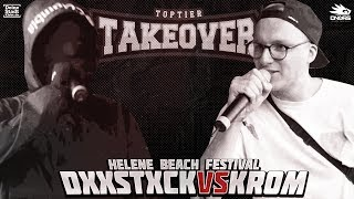 Dxxdstxck vs. Krom - Takeover Freestyle Contest | Helene Beach Festival (VR 2/4)