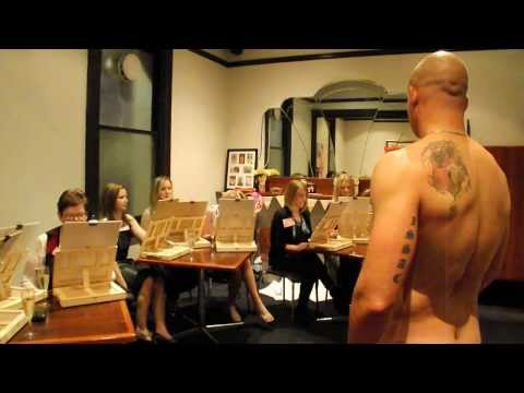 Drawing Nude Male Models | Hens Party Ideas Adelaide | 0432924305 video
