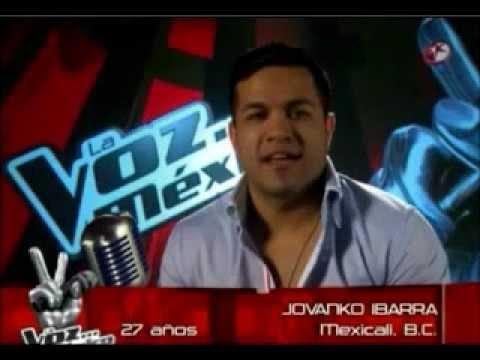 La Voz Mexico - Jovanko Ibarra - Hasta La Miel Amarga (audio) video