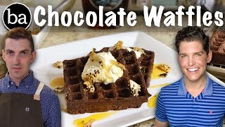 How to Make Chris Morocco's Chocolate Waffles: Bon Appetit Test #35