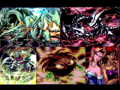 Yugioh Five of The Rarest Cards in the World Blue-Eyes Ultimate Dragon / Angry Kuriboh