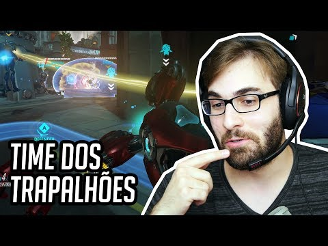 OVERWATCH - ROAD TO ALGUMA COISA #12 - Revoltante! (PC Gameplay Ranked)