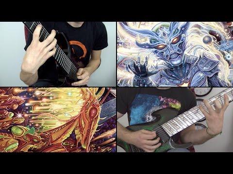 Rings of Saturn Godless Times Lucas Mann & Miles Dimitri Baker LIVE Guitar Playthrough