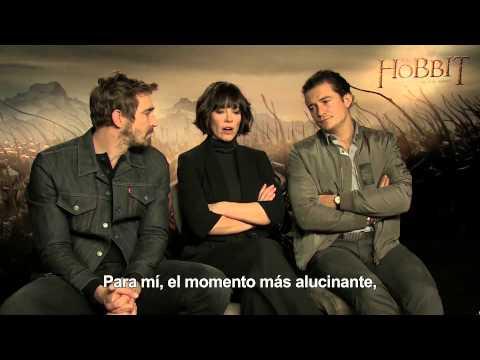 El Hobbit: La Batalla de los Cinco Ejércitos - Entrevista Lee Pace, Evangeline Lilly y Orlando Bloom