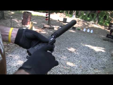 CZ 75  P-07 Duty with suppressor