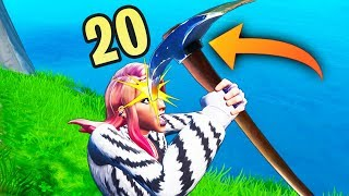 *RARE* PICKAXE YOURSELF TRICK! - Fortnite Funny WTF Fails and Daily Best Moments Ep.1286