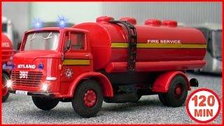 Feuerwehrauto für kinder, Autos für Kinder & Rettung, Cartoons für kinder