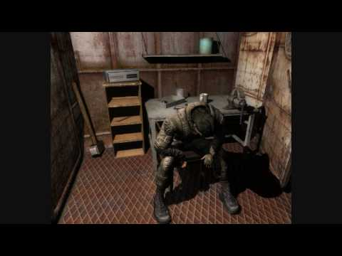 STALKER Call of Pripyat secrets (weapons on zaton ) pt1