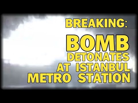 BREAKING: BOMB DETONATES IN BUSY ISTANBUL METRO STATION - FATALITIES REPORTED