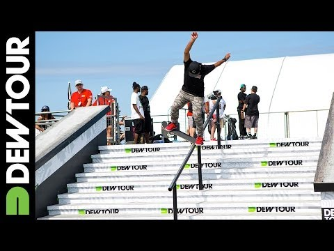 Skate Street Session Highlights, 2014 Dew Tour Beach Championships