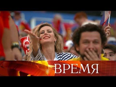 Любоваться болельщицами ЧМ по футболу FIFA 2018 в России так же интересно, как и самой игрой.