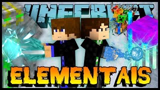 Bosses Elementais - Escola de Bruxos #11 (Minecraft)