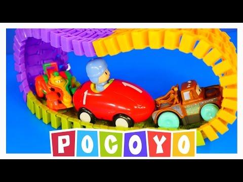 POCOYO MUSICAL CAR SwiggleTraks Children Learning Toys Pixar Cars 2 Juguetes De Coches