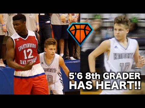 5'6 8th Grader REFUSED To Back Down From Zion Williamson!! | Bryson Bishop Has HEART