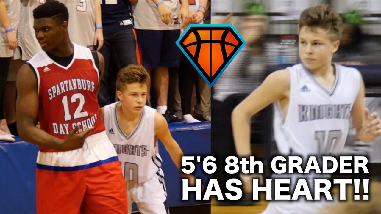 5'6 8th Grader REFUSED To Back Down From Zion Williamson!!   Bryson Bishop Has HEART