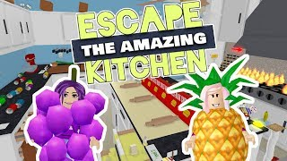THE BEST OBBY ON ROBLOX?!?! / Roblox: Escape the Amazing Kitchen Obby
