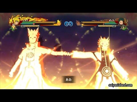 Naruto Shippuden Ultimate Ninja Storm Revolution Hinata Naruto Minato Gameplay Screenshots