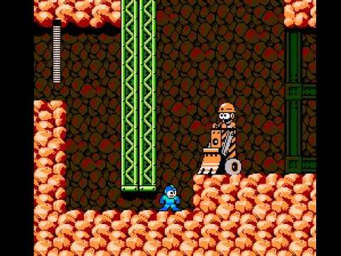 Mega Man 3 - Mega Man 3 Stage: Hard Man - User video