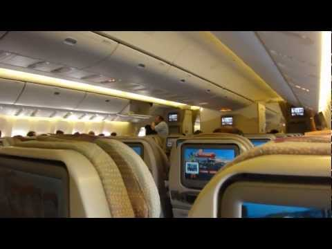 EMIRATES IT HOME | DXB-ZRH | BOEING 777-300ER