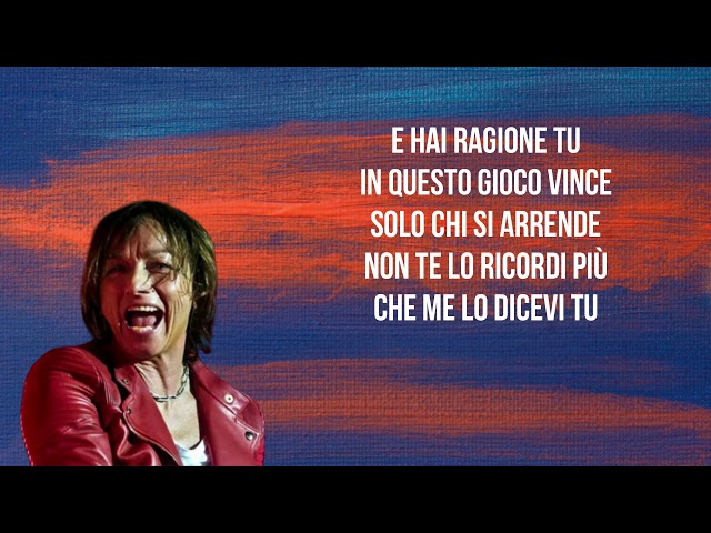 Gianna Nannini - La differenza (Testo / Lyrics) thumbnail