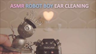 ASMR. Relaxing with Robot Boy 로봇소년 귀청소 (Binaural)(No talking)
