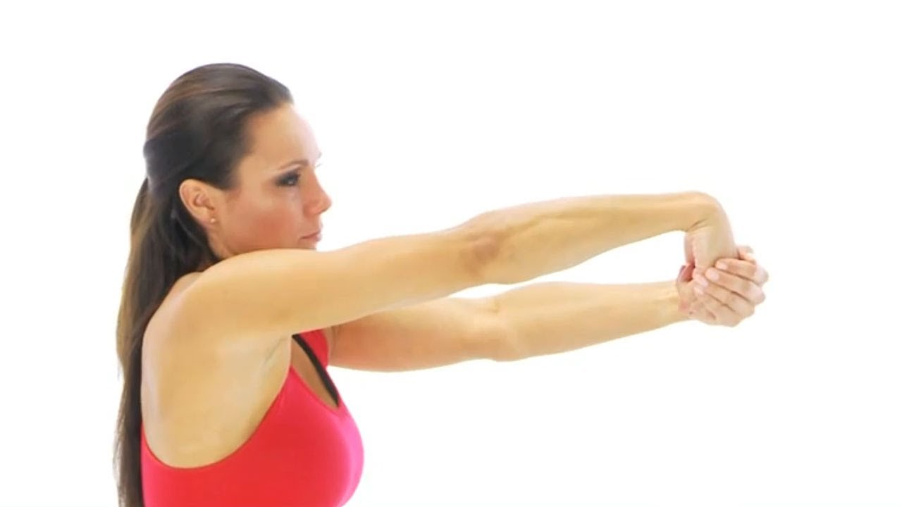 Wrist exercise - wrist extensor stretch - YouTube