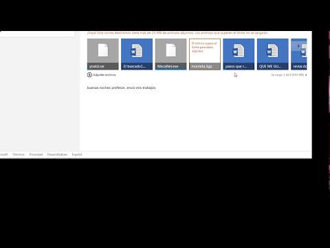 Como comprimir archivos y enviarlos por mail